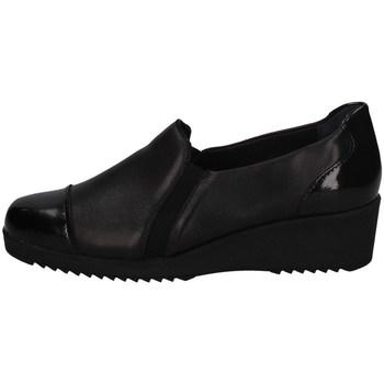 Schuhe Damen Slipper Florance C10202-1 SCHWARZ