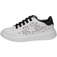 Schuhe Mädchen Sneaker Low Asso AG-8402 WEISS