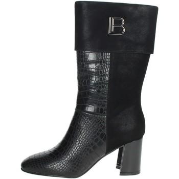 Schuhe Damen Klassische Stiefel Laura Biagiotti 6589 Schwarz