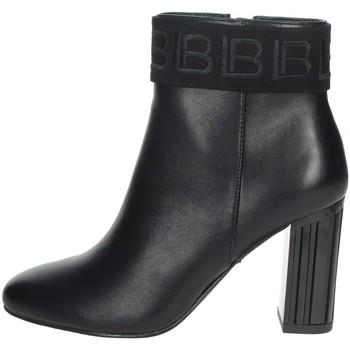 Schuhe Damen Low Boots Laura Biagiotti 6583 Schwarz