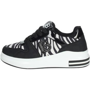 Schuhe Damen Sneaker Low Laura Biagiotti 6408 Schwarz/Weiss