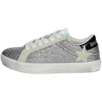 Schuhe Mädchen Sneaker Low Shop Art SA0400 Silber