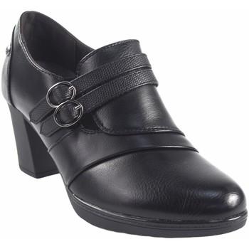 Schuhe Damen Slipper Amarpies Damenschuh  18755 akt schwarz Schwarz