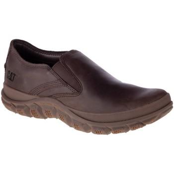 Schuhe Herren Slipper Caterpillar Fused Slip ON Braun