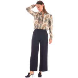 Kleidung Damen Hosen Alberto Aspesi 43964-541 Blu