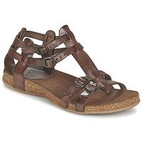 Schuhe Damen Sandalen / Sandaletten Kickers ANA Braun