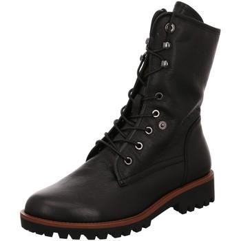 Schuhe Damen Boots Regarde Le Ciel Stiefeletten NIKA-14 black schwarz