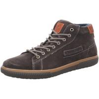 Schuhe Herren Sneaker High Bugatti Schnuerschuhe Praktik 3216033A1400-1100 grau