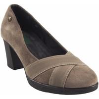 Schuhe Damen Pumps Amarpies Damenschuh  18753 akt taupe Braun