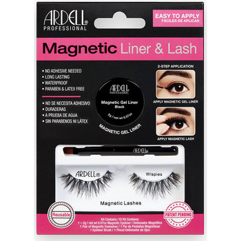 Beauty Damen Mascara  & Wimperntusche Ardell Magnetic Liner & Lash Wispies Liner +  2 lashes