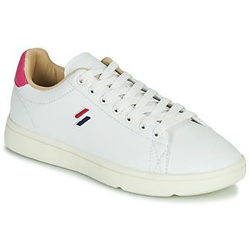 Schuhe Damen Sneaker Low Superdry VINTAGE TENNIS Weiss