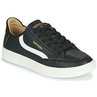 Schuhe Herren Sneaker Low Superdry BASKET LUX LOW TRAINER Schwarz