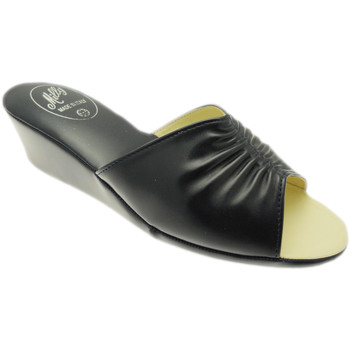 Schuhe Damen Pantoffel Milly MILLY1805blu blu