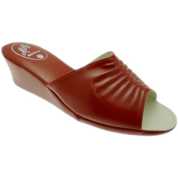 Schuhe Damen Pantoffel Milly MILLY1805ros rosso