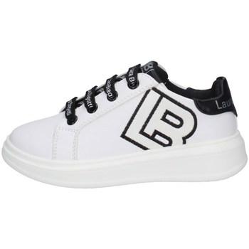 Schuhe Mädchen Sneaker Low Laura Biagiotti 6605 WEISS