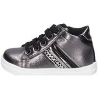 Schuhe Mädchen Sneaker Low Asso AG-9851 GUNMETAL