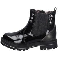 Schuhe Mädchen Ankle Boots Asso AG-9102 SCHWARZ