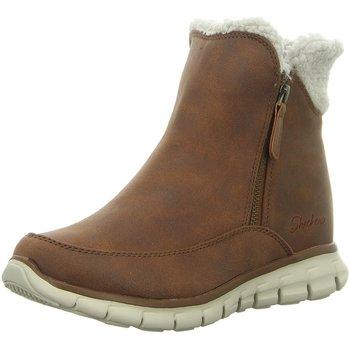Schuhe Damen Schneestiefel Diverse Stiefeletten SYNERGY COLLAB 44779 CSNT braun