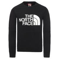 Kleidung Jungen Sweatshirts The North Face DREW PEAK LIGHT CREW Schwarz