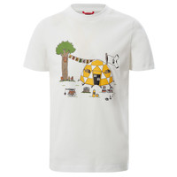 Kleidung Jungen T-Shirts The North Face GRAPHIC TEE Weiss