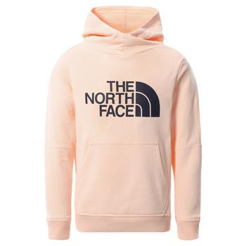 Kleidung Mädchen Sweatshirts The North Face DREW PEAK HOODIE 2.0 Rose