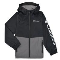 Kleidung Jungen Jacken Columbia DALBY SPRINGS JACKET Schwarz / Grau