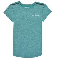 Kleidung Mädchen T-Shirts Columbia TECH TREK Grün