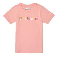 Kleidung Mädchen T-Shirts Columbia SWEET PINES GRAPHIC Rose