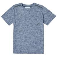 Kleidung Jungen T-Shirts Columbia TECH TREK Marine
