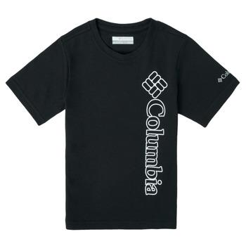 Kleidung Jungen T-Shirts Columbia HAPPY HILLS GRAPHIC Schwarz