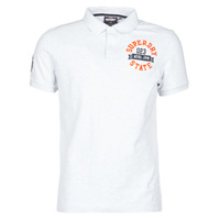 Kleidung Herren T-Shirts Superdry CLASSIC SUPERSTATE S/S POLO Grau