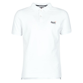 Kleidung Herren T-Shirts Superdry CLASSIC PIQUE S/S POLO Weiss