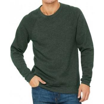 Kleidung Herren Sweatshirts Bella + Canvas CV3901 Grün meliert