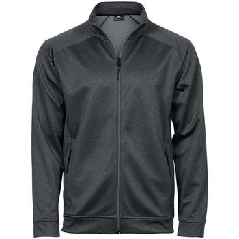 Kleidung Trainingsjacken Tee Jays T5602 Dunkelgrau meliert
