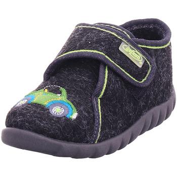 Schuhe Kinder Hausschuhe Bold - 455P119 schwarz