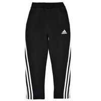 Kleidung Jungen Jogginghosen adidas Performance B 3S TAPERED P Schwarz