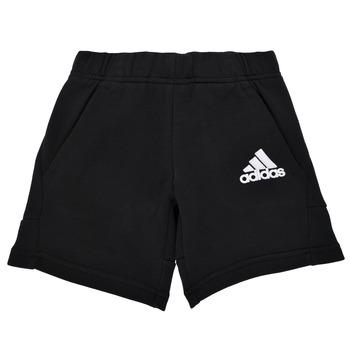 Kleidung Jungen Shorts / Bermudas adidas Performance B BOS SHORT Schwarz