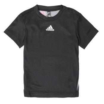 Kleidung Jungen T-Shirts adidas Performance B A.R. TEE Schwarz