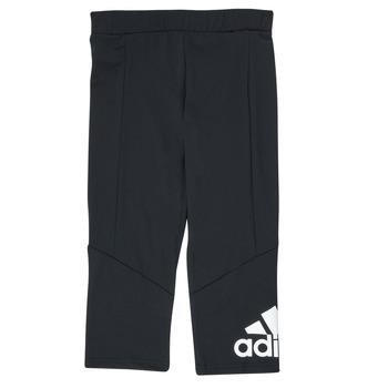 Kleidung Mädchen Leggings adidas Performance G BL 34 TIG Schwarz