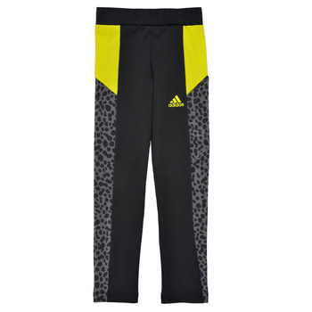 Kleidung Mädchen Leggings adidas Performance G LEO TIG Schwarz
