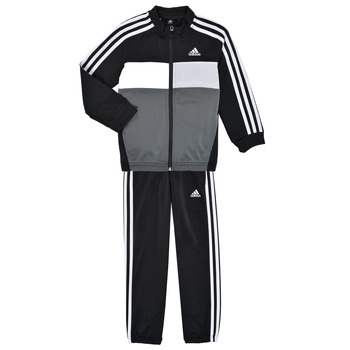 Kleidung Jungen Jogginganzüge adidas Performance B TIBERIO TS Schwarz / Grau