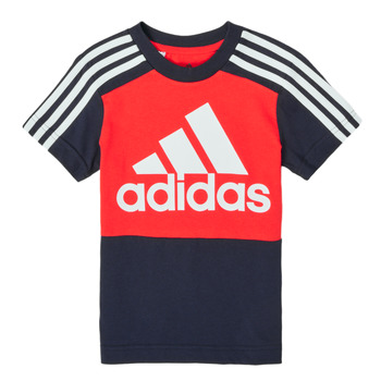 Kleidung Jungen T-Shirts adidas Performance B CB T Rot / Marine