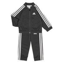 Kleidung Kinder Kleider & Outfits adidas Performance 3S TS TRIC Schwarz