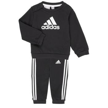 Kleidung Kinder Kleider & Outfits adidas Performance BOS JOG FT Schwarz