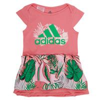Kleidung Mädchen Kurze Kleider adidas Performance FLOWER DRESS Rose