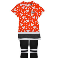 Kleidung Mädchen Kleider & Outfits adidas Performance INF DY MM SUM Multicolor