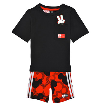 Kleidung Jungen Kleider & Outfits adidas Performance INF DY MM SUM 2 Multicolor