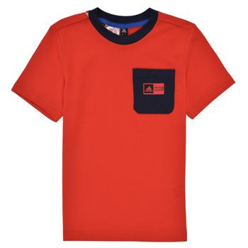 Kleidung Jungen Kleider & Outfits adidas Performance LB DY SHA SUM Rot / Marine
