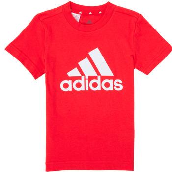 Kleidung Jungen T-Shirts adidas Performance B BL T Rot