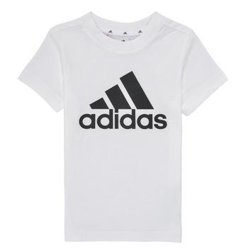 Kleidung Jungen T-Shirts adidas Performance B BL T Weiss